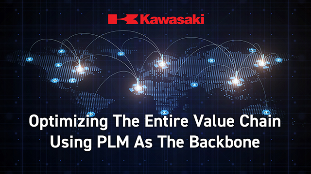 Kawasaki: Optimizing the Entire Value Chain Using PLM as the Backbone