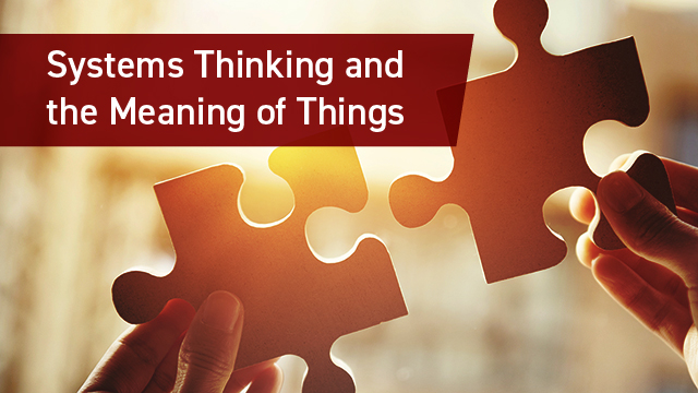 systems thinking meaning of things