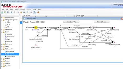 Configuration management aras enterprise plm software configuration and change management demo 30 minutes ccuart Image collections