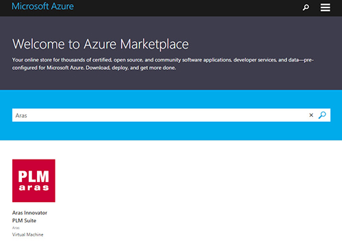 azure-certified-setup | Aras | Enterprise PLM Software