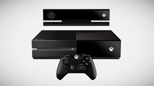 Microsoft Xbox with Kinect and controller