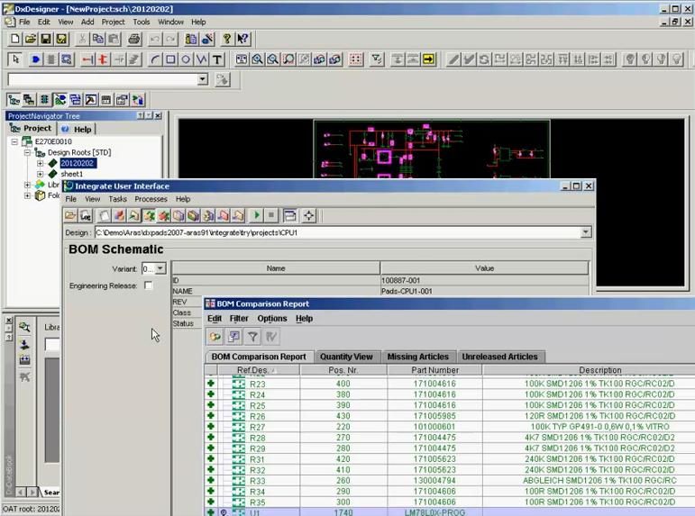 Electronic Circuit Board - Schematic Design | Aras | Enterprise PLM ...