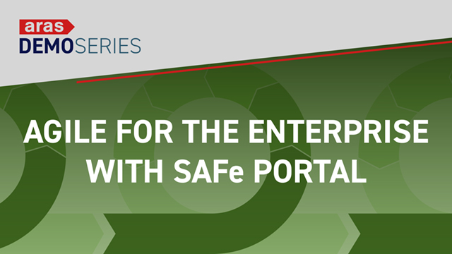 Demo-Series-2019-07-Agile-with-SAFe-Portal