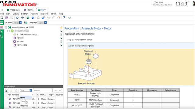 Aras Innovator Demo Series - Effectively Leveraging your EBOMs to create error-free MBOMs