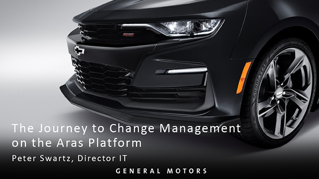A Journey to Change Management on the Aras Platform