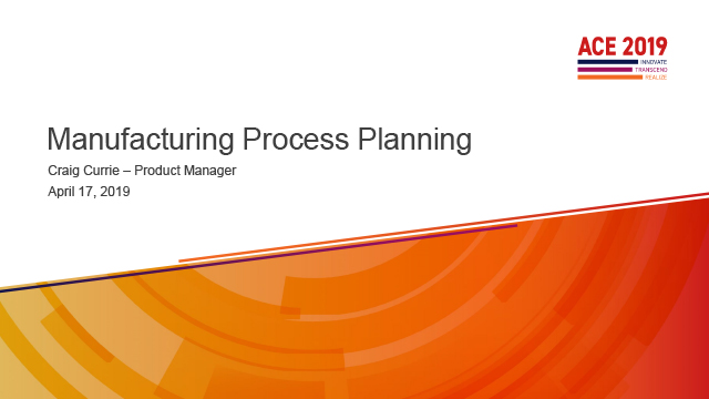 Process Planning with Aras MPP