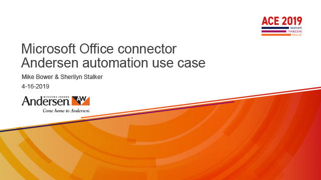 Office Connector Use Case