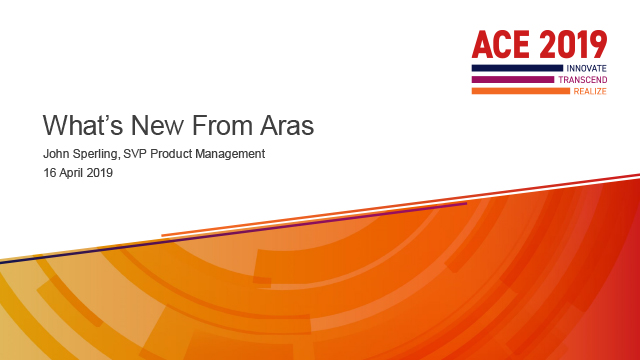 What's New From Aras?