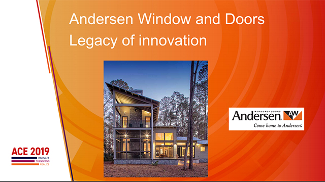 Andersen Window and Doors Legacy of Innovation