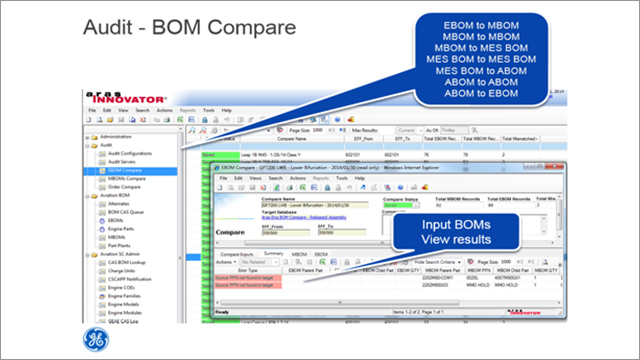 GE Aviation: Engineering and Supply Chain BOM Management in PLM