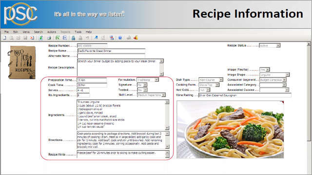 formula recipe management solution 15 minutes