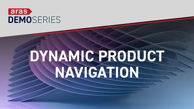demo series dynamic product navigation