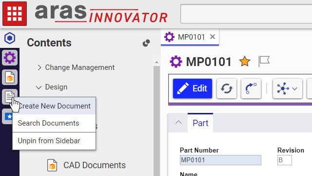 Personalized PLM in Aras Innovator Version 12