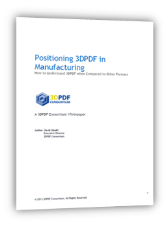 Positioning 3DPDF in Manufacturing