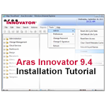 Aras Innovator 9.4 PLM Software Installation Tutorial