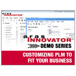Aras Innovator Demo Series - Customizing PLM to Fit Your Business