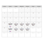 Aras PLM Training Calendar